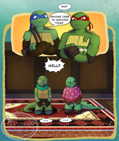 TMNT - Like fathers like...? by Myrling