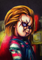 Chucky / Charles Lee' Ray by junkome