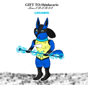 Lucario Pride favourites by shinlucario on DeviantArt