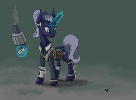 Littlepip (Redesign) by QuadRog