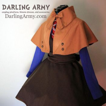 David Tennant Tenth Doctor Who Cosplay Capelet by DarlingArmy