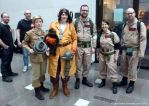 The Ghostbusters team up! by PotionsTeddy