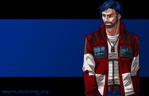 humanized optimus prime by Ammotu