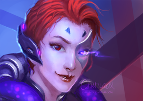 Moira (Overwatch) by chirun