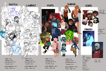 Comm Info Sheet 2017 by Jellygay