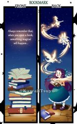 Bookmark Design JW Madrid by KawaiiTsuyu