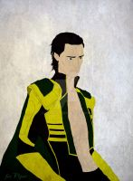 The Avengers - Loki by GamaDes