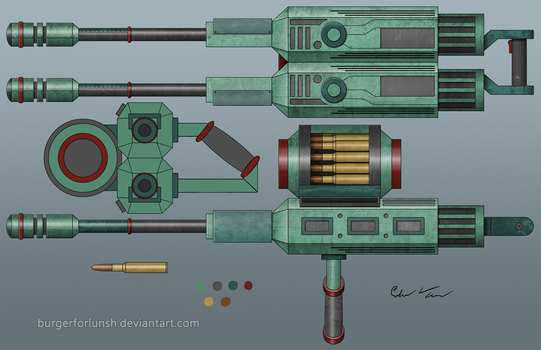 'Skyrender' AA Cannon by BurgerForLunsh