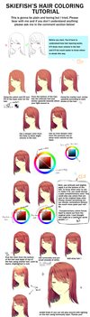 Hair tutorial by SkieFish