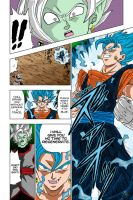 Vegito Blue Coloured from Dragon Ball Super CH23 by MielSibel10032002