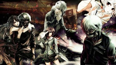 Beautiful Background Anime Tokyo Ghoul by PQT-14902