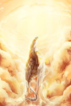 Reach for the heavens by Sankko