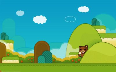 mario style wall PSD by chaos-kaizer