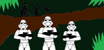 Bare Squadron vs Imperial Troops by Syfyman2XXX