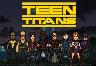 Teen Titans - second formation (New Earth) by Nova20X