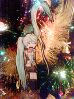 When did I get a Miku Ornament by animelver123