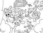 CMC Air Time Line Work by LateCustomer