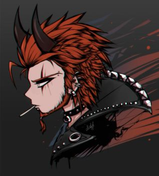 Leon Kuwata the Demon by Miatriss