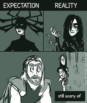 Hela is scary af by DKettchen