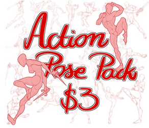 Action pose pack! by spectr00m
