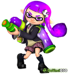 DV030 - Pagedoll - SSBU Inkling Girl 4 by DaVinci030