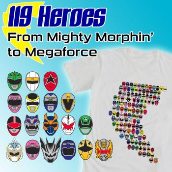 119 Heroes: From Mighty Morphin' to Megaforce by e-Berry