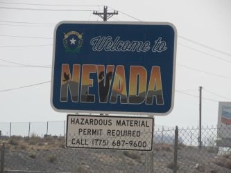 Nevada Welcome Sign by eon-krate32