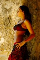 belly dancing costume by Sabziii