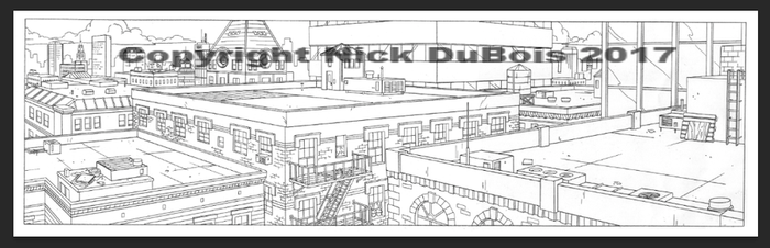 HS Rooftops Copyright Nick DuBois 2017 by NDuBdesigns