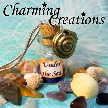 Little Mermaid necklace by literary-magic