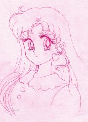 Usagi hair down sketch by seresere