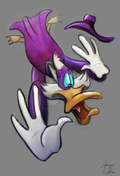 Commission Darkwing Duck by Mad--Munchkin