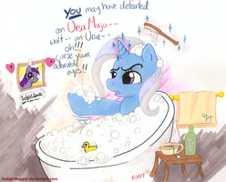 Trixie Tub Drama by foxxy-arts