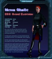 Charbase: Mryna Qhalic by Vince-T