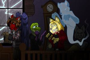 Treasure Hunting in the Old Mansion by Songficcer