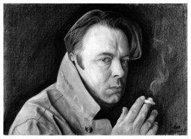 Christopher Hitchens by PakstraX