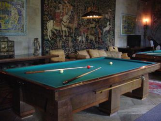 Hearst Castle Pool Table 2 by StockWolfwood