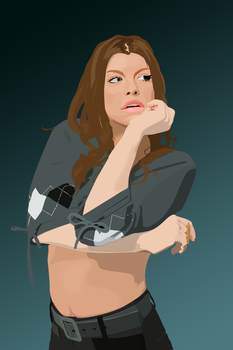 Fergie Vector by XombiiDesigns