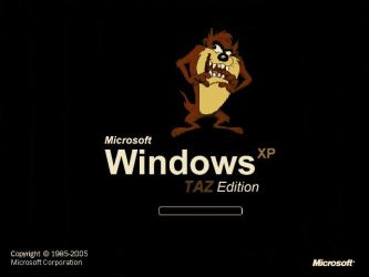 Windows XP TAZ Edition by Bash2cool
