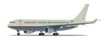 Airbus A300 (Total Drama Styles) by Terrance-Hearts-Art