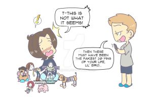 Blackmail by KamiDiox