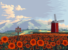 Sunflowers by 5ldo0on