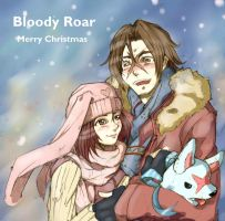 Bloody Roar - Merry Christmas (recolored) by Neko-Minos