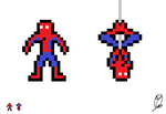 Mini Spidey Sprite Thing by WolfTron