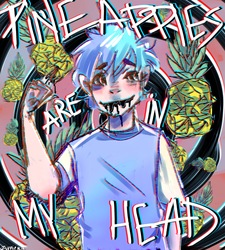 Pineapples are in my head by Zurnie