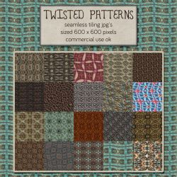 Patterns: Twisted by HGGraphicDesigns