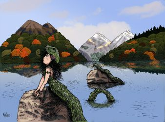 Nessie Lockness by Kailyce