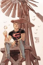 secret files: Superboy Colors by manapul