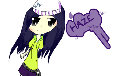 My OC Haze by MissTypist