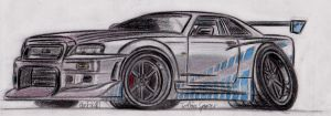 2F2F Skyline coloured by theTobs